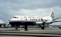 Photo of BWA - British World Airlines Viscount G-APEY c/n 382 July 1996
