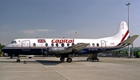 Photo of Capital Airlines (UK) Viscount G-AOYN